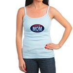 Your Mom for President (Oval) Jr. Spaghetti Tank