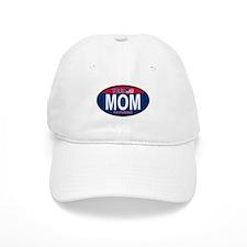 Your Mom for President (Oval) Baseball Cap