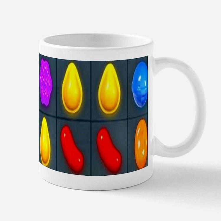 Candy Not Crushed Mugs