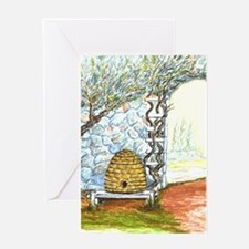 garden skep Greeting Card