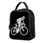 Bicycle Racing Abstract Silhouette Print Neoprene