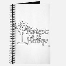 White C Martini Matron Honor Journal