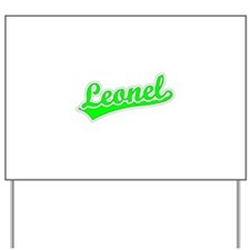 Retro Leonel (Green) Yard Sign