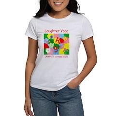 Laughter Yoga LAUGH Women's T-Shirt