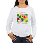 Laughter Yoga LAUGH Women's Long Sleeve T-Shirt