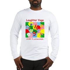 Laughter Yoga Laugh Unisex Long Sleeve T-Shirt