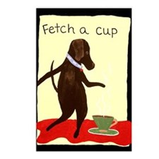 Fetch A Cup Postcards (Package of 8)