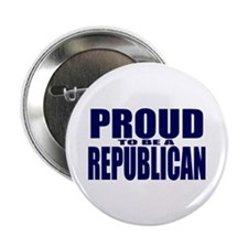 "Proud to be a Republican 2.25"" Button (100 pack)"