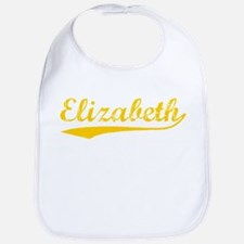 Vintage Elizabeth (Orange) Bib