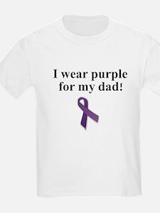i wear purple (dad) T-Shirt