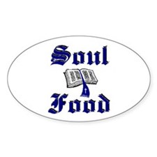 Soul Food Oval Decal