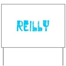 Reilly Faded (Blue) Yard Sign