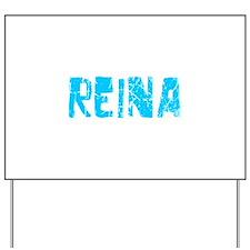 Reina Faded (Blue) Yard Sign