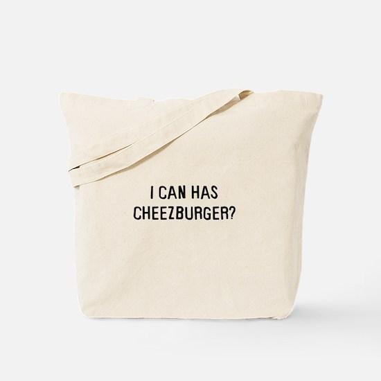 I can has cheezburger? Tote Bag