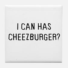 I can has cheezburger? Tile Coaster
