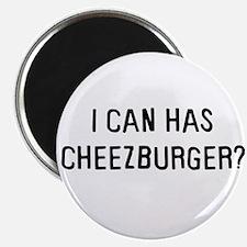 I can has cheezburger? Magnet