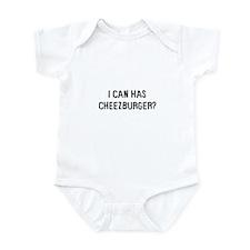 I can has cheezburger? Infant Bodysuit