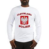 Cleveland polish Long Sleeve T-shirts