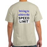 Striving to the Limit Ash Grey T