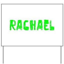 Rachael Faded (Green) Yard Sign