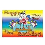 Happy Birthday Tool Set Postcards (Package of 8)