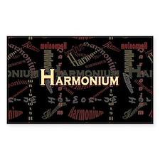 Harmonium Rectangle Stickers