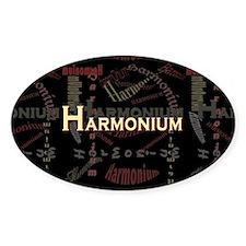 Harmonium Oval Stickers