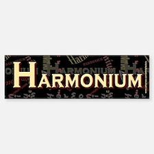 Harmonium Bumper Bumper Bumper Sticker