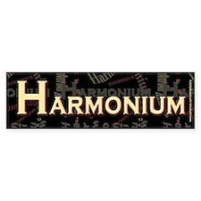 Harmonium Bumper Bumper Sticker