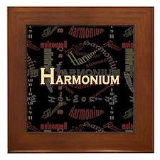 Harmonium Framed Tile
