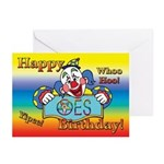 OES Birthday Greeting Cards (Pk of 10)