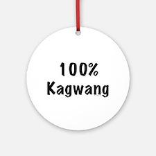 100% Kagwang Ornament (Round)