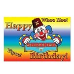 Shriners Birthday Clown Postcards (Package of 8)