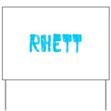 Rhett Faded (Blue) Yard Sign