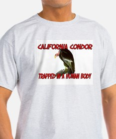 California Condor trapped in a human body T-Shirt