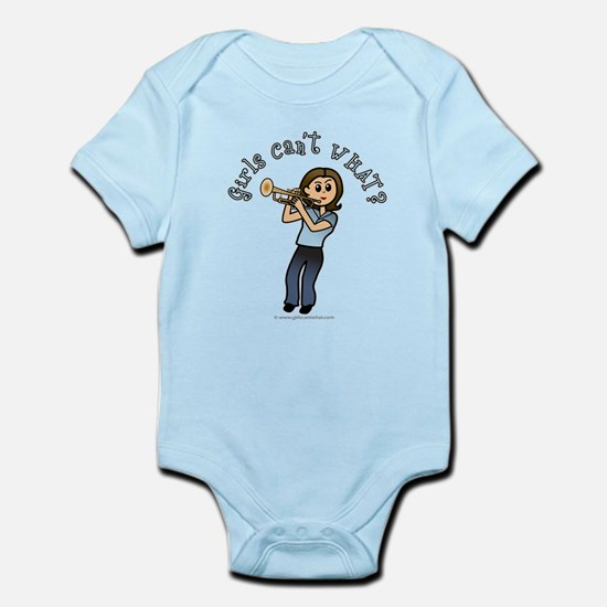 Light Trumpet Player Infant Bodysuit