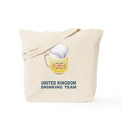 UK Drinking Team Tote Bag