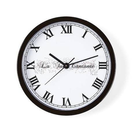 La Tua Cantante Wall Clock