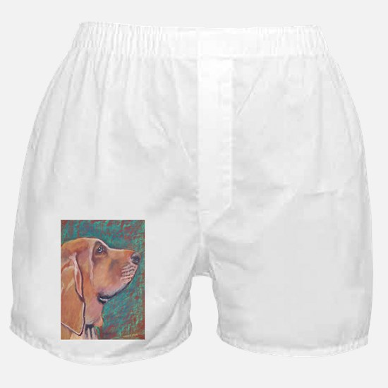 """Hank"" a Bloodhound Boxer Shorts"