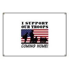 Troops Coming Home Banner