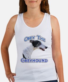 GreyhoundObey Women's Tank Top