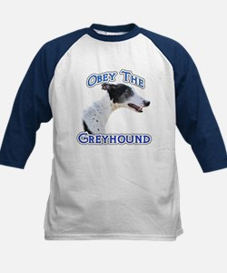 GreyhoundObey Kids Baseball Jersey