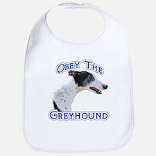 GreyhoundObey Bib