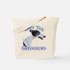 GreyhoundObey Tote Bag