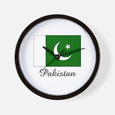 Pakistan Flag Wall Clock
