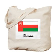 Oman Flag Tote Bag