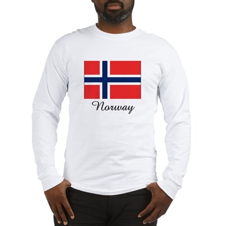 Norway Flag Long Sleeve T-Shirt