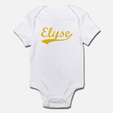 Vintage Elyse (Orange) Infant Bodysuit