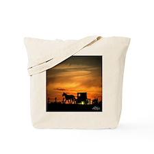 Amish Buggy Tote Bag