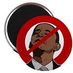 """No Obama 2008 2.25"""" Magnet (100 pack)"""